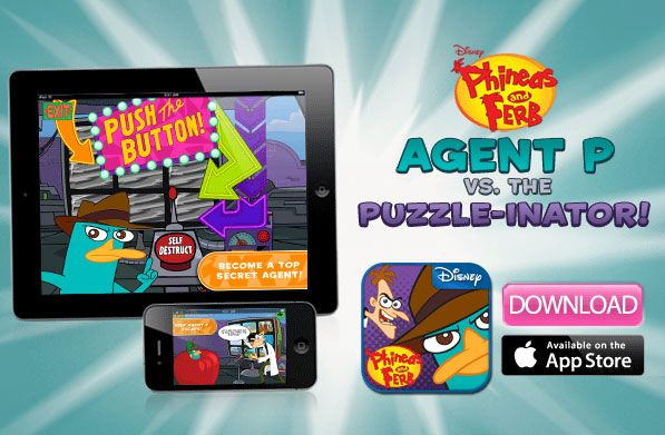 Disney's Phineas and Ferb Agent P vs. The PuzzleInator