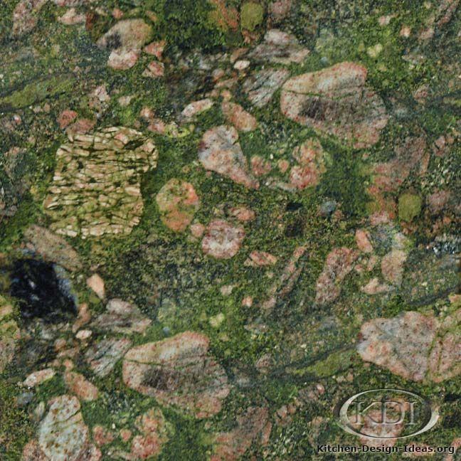 Green Marinace Granite (Kitchen-Design-Ideas.org