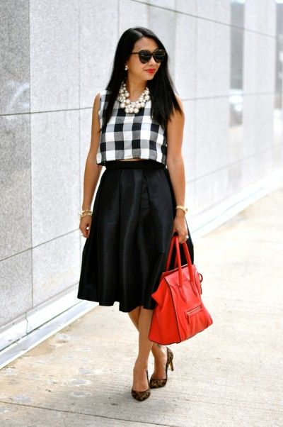 How To Style Midi Skirt With Boots   VogueMagz : VogueMagz
