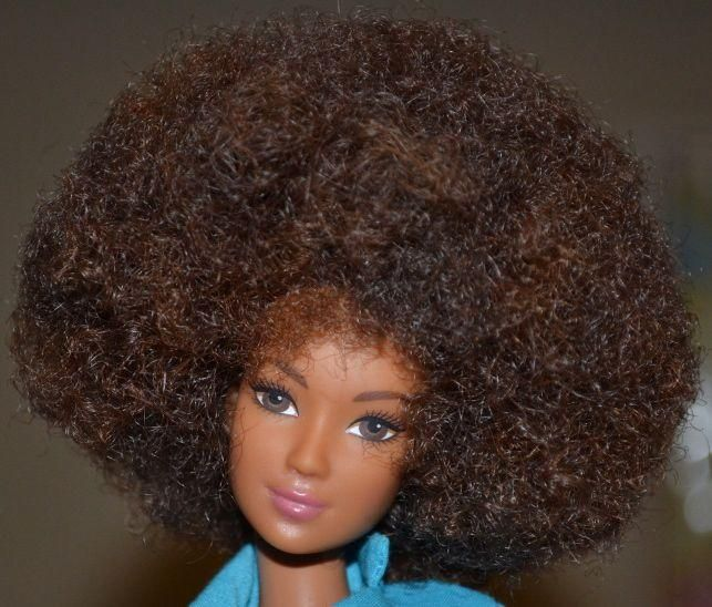 how to fix curly barbie hair