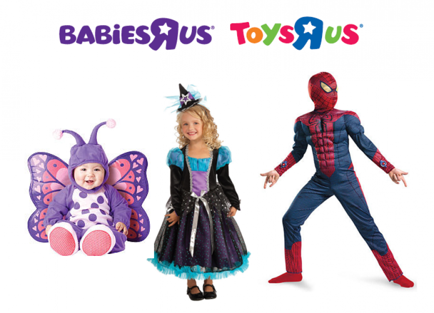 ... Costume at Babies R Us / Toys R Us now through 9/13/12, Click Here