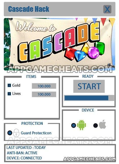 Cascade Cheats, Hack, & Tips for Gold & Lives  #Arcade #Cascade #Puzzle http://appgamecheats.com/cascade-cheats-hack-tips/