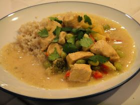 Freeze Your Way Fit: Clean Eating Thai Chicken Curry with Pineapple (OAMC)
