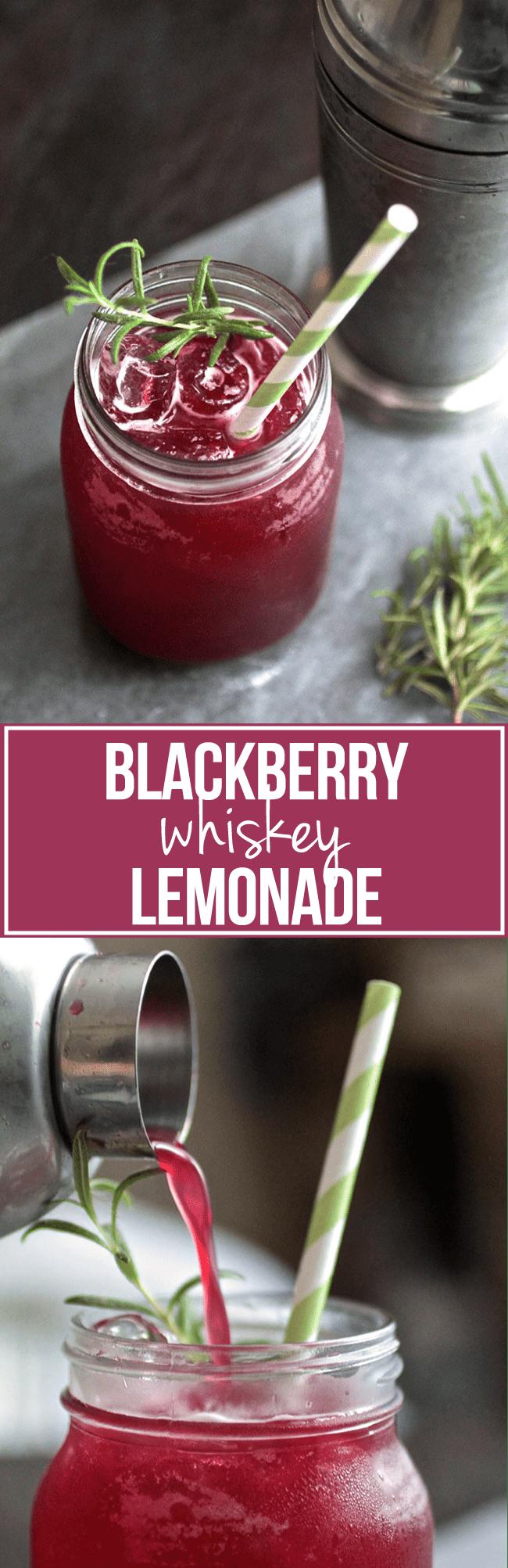Photo of Blackberry Whiskey Lemonade – Life As A Strawberry