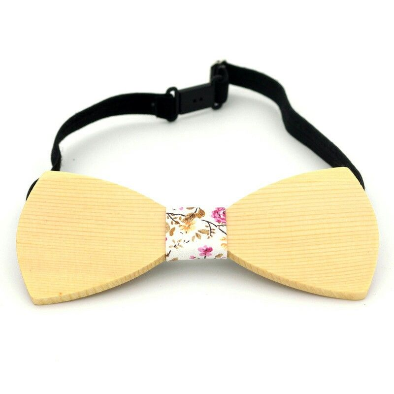 Natural bamboo wood bowtie#fashion desion#earlyspring new one#creative gift