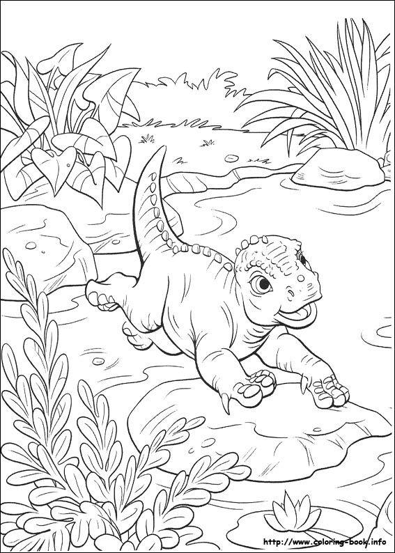 Baby aladar 67 Dinosaur coloring pictures | Ideas para dibujar ...