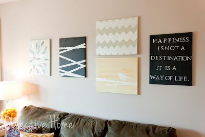 Cool blog for budget friendly home decor/DIY ideas that don't look so DIY. I loooove the custom roman blinds that she made for her kitchen. This site is worth browsing around.