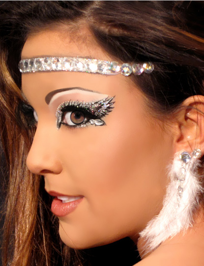 Halloween Schminktipps Schwarzer Engel.D So Pretty Angel Makeup Costume Makeup Eye Make Up