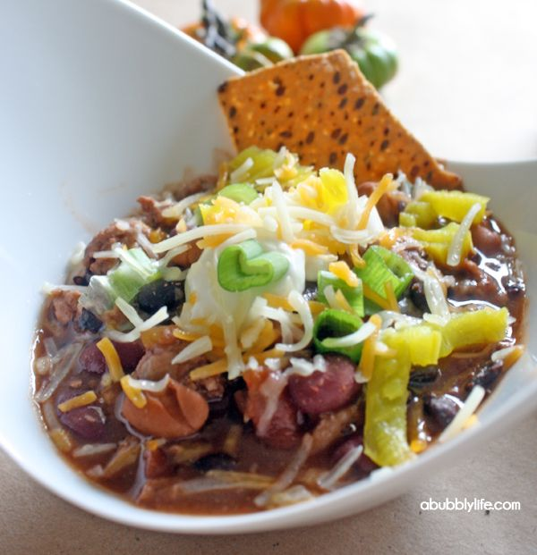 Fall Means Chili Bar! - A Bubbly Life
