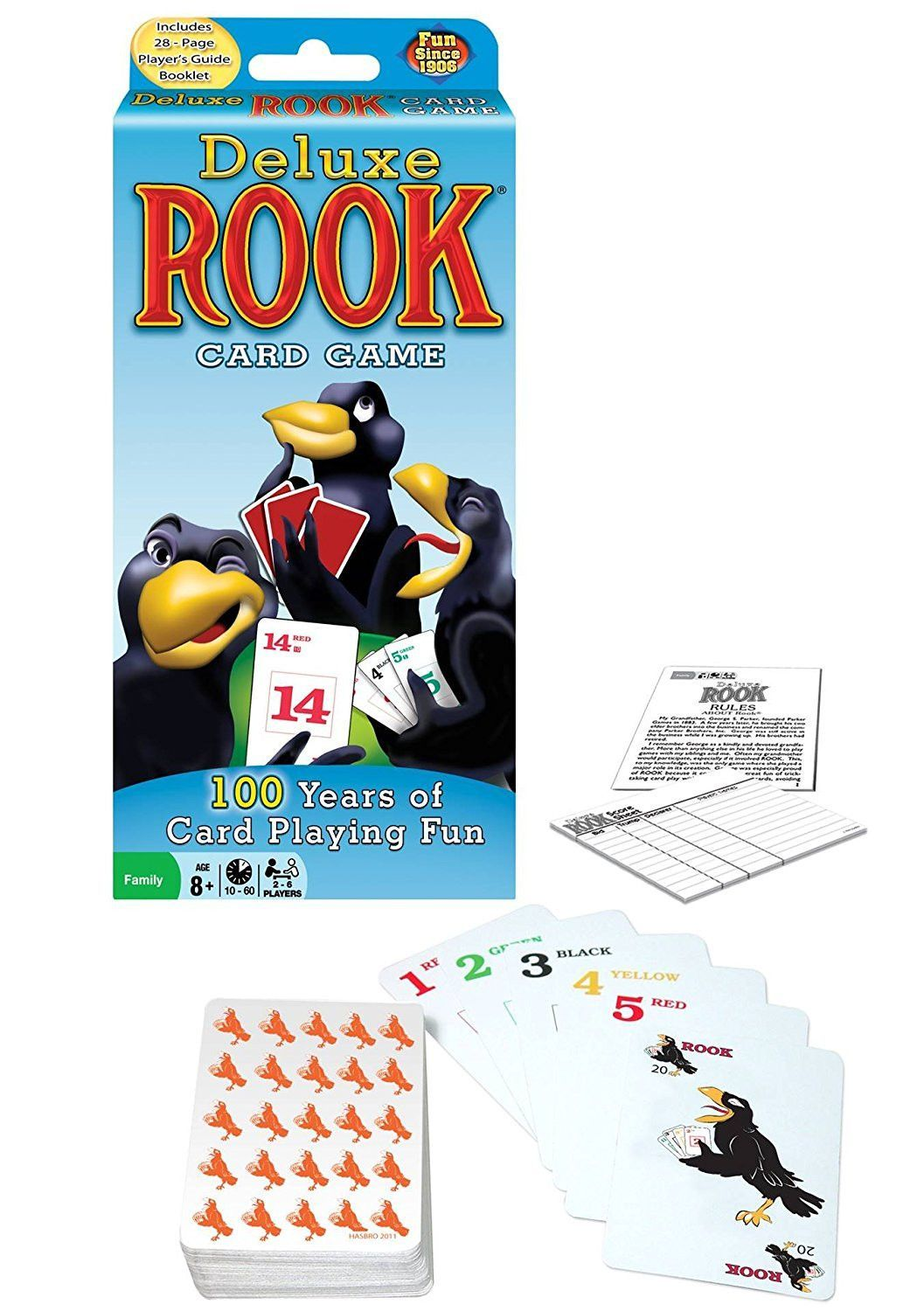 Deluxe Rook Rook card game, Card games, Games to play