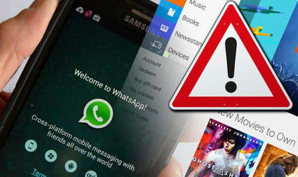 ANDROID WARNING Google Play apps can steal information