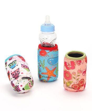 Lucia, Jordan & Parker Bottle/Sippy Cup Insulator Set