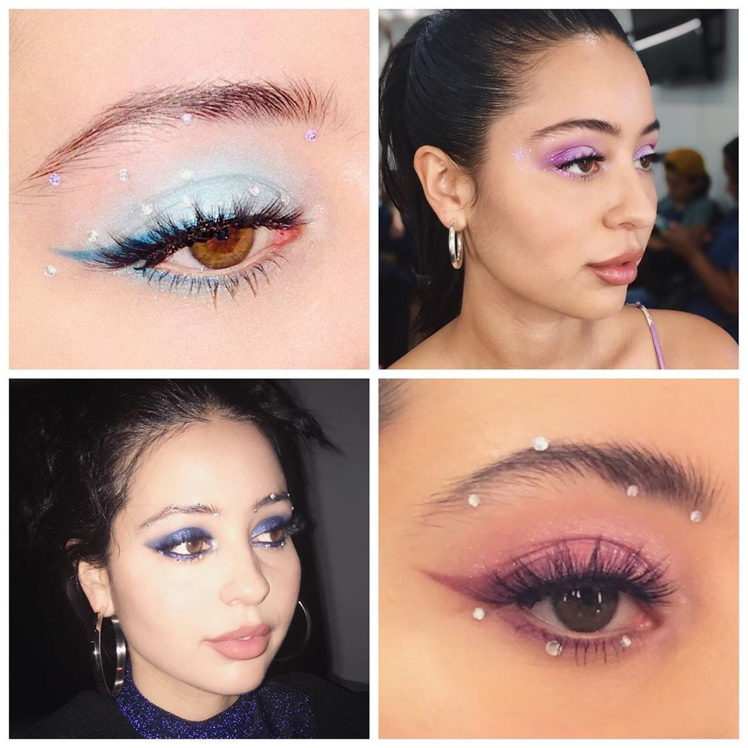 """All the""""Euphoria"""" Makeup Looks From Season One & What They Mean #makeuplooks"""