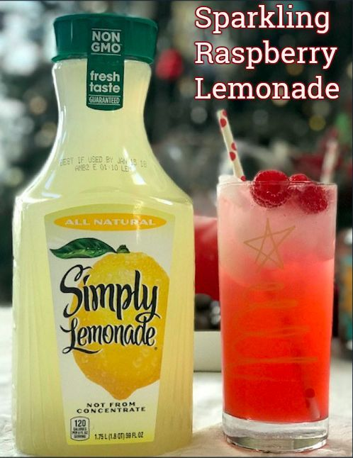 Entertaining Tips With Sparkling Raspberry Lemonade Recipe & Chocolate Covered Almonds - Saving You Dinero