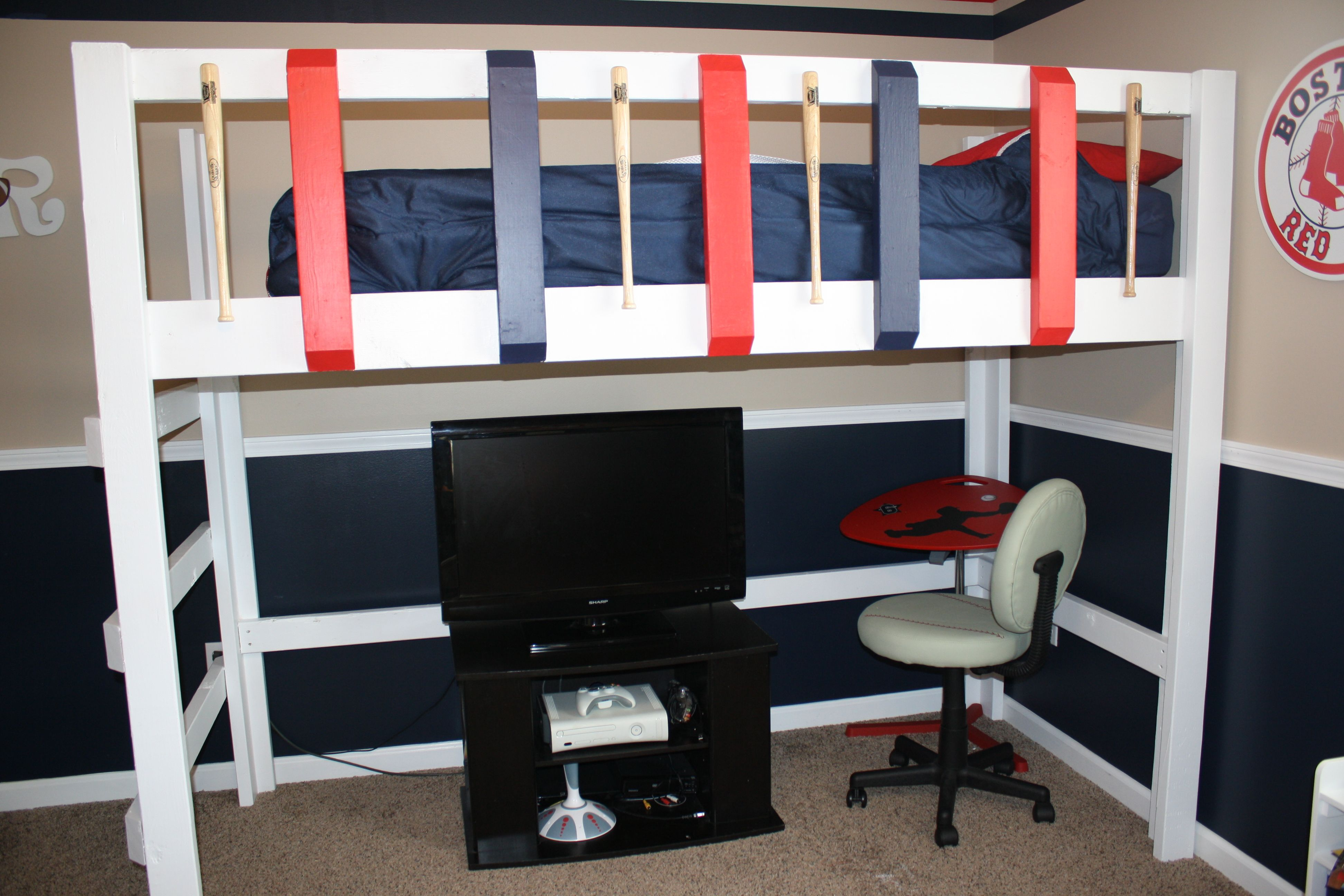 Pin By Jessica Mckinney On Our Crafty Makes Baseball Theme Room