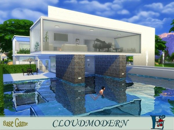The Sims Resource Cloudmodern by Evi • Sims 4 Downloads