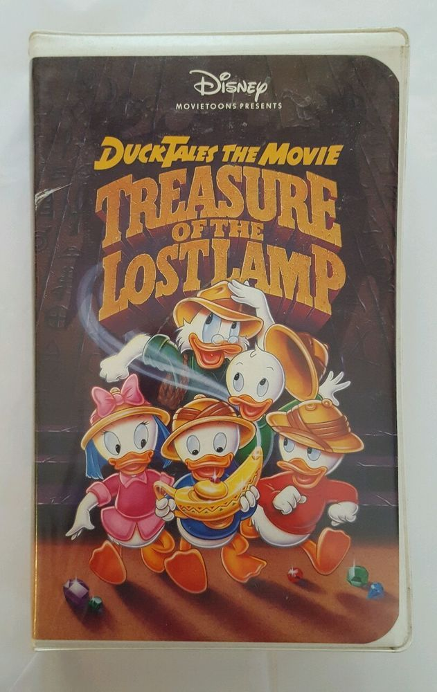 Ducktales The Movie Treasure Of The Lost Lamp Vhs 1991 Cartoon