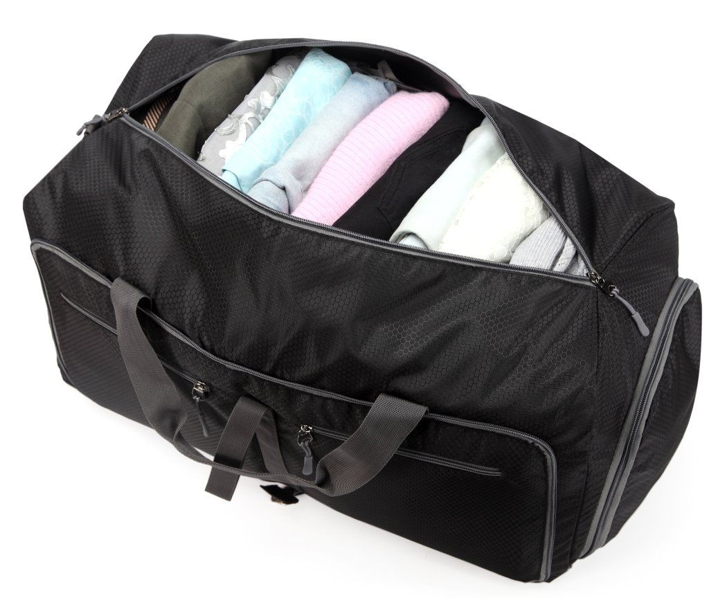 a93dc4813c Kenox Foldable Duffel Bag Travel Luggage Gym Sport Bag with Shoe  Compartment    Read more reviews of the product by visiting the link on the  image.