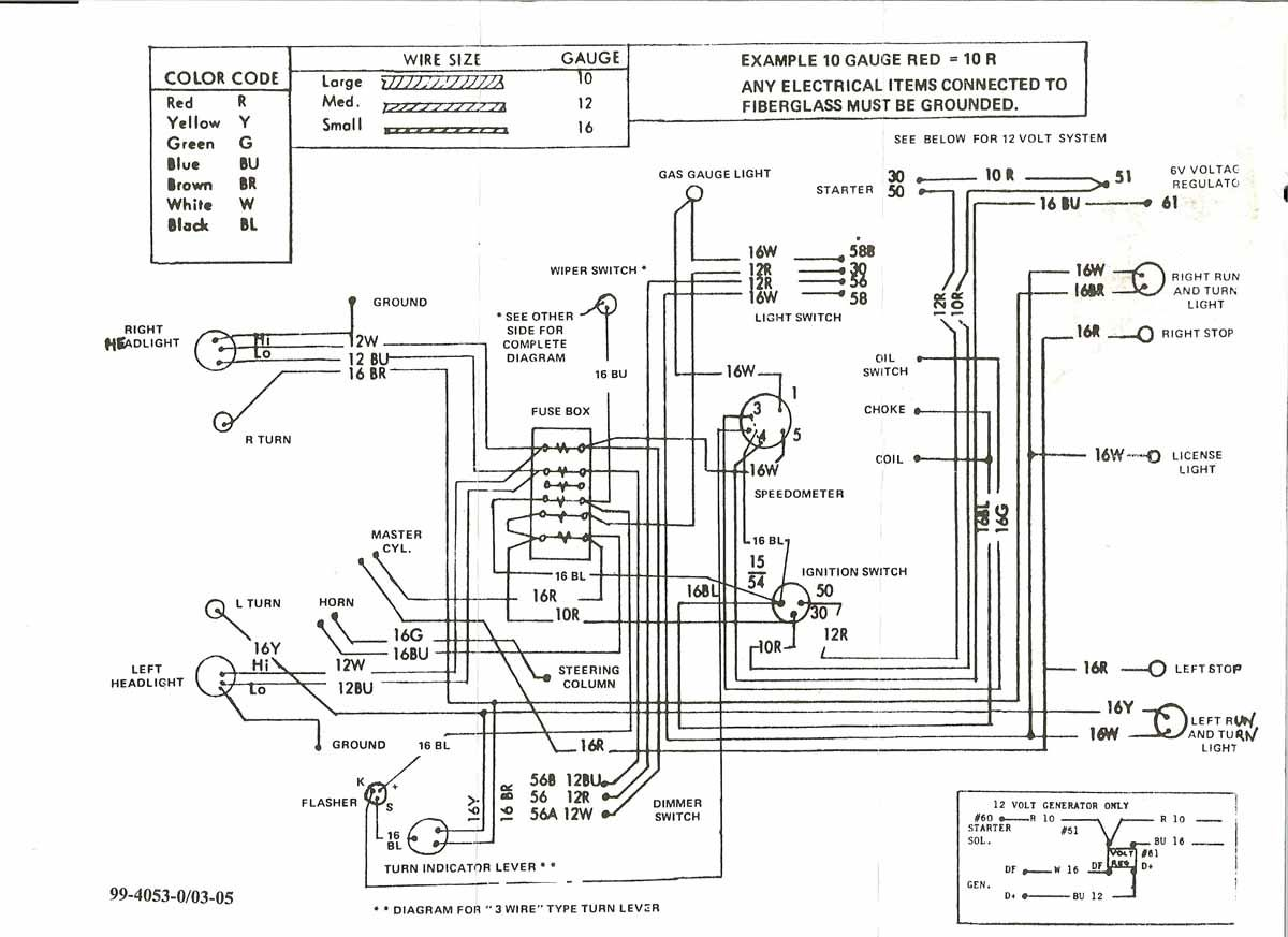dune buggy and sandrail wiring daigram | car stuff ... simple dune buggy wiring diagram #10