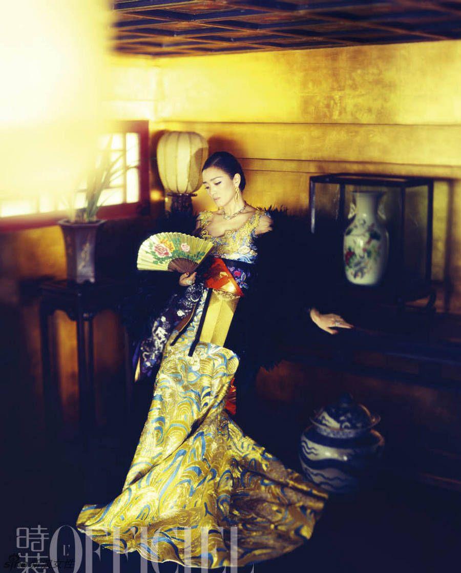 Gong Li L'Officiel China