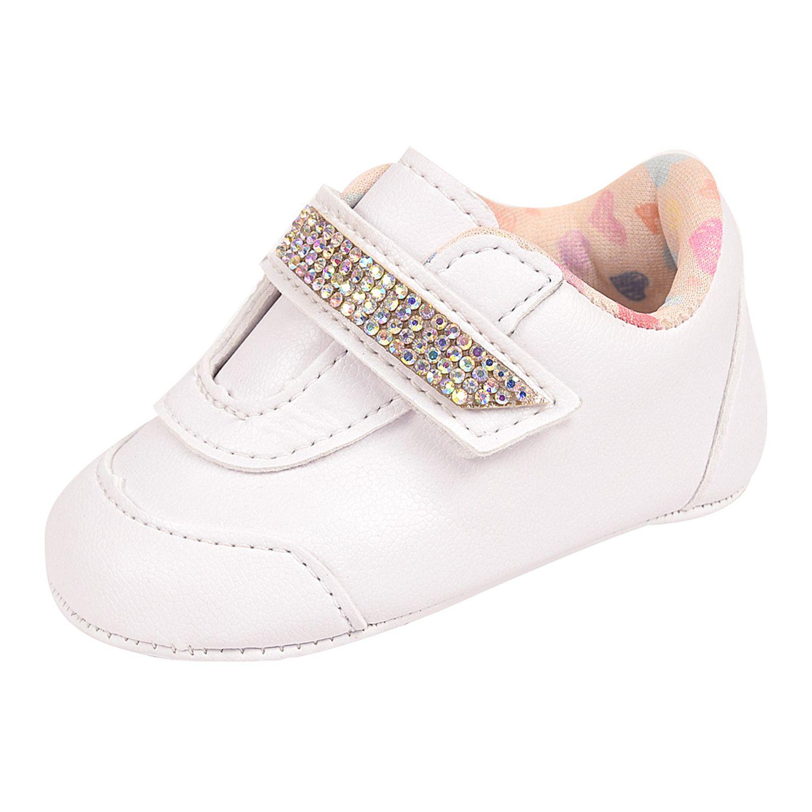 tênis sapatinho de bebe feminino branco recém nascido