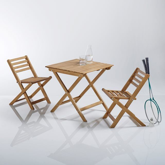 Image Set pour enfant 2 chaises pliantes et 1 table basse La Redoute ...