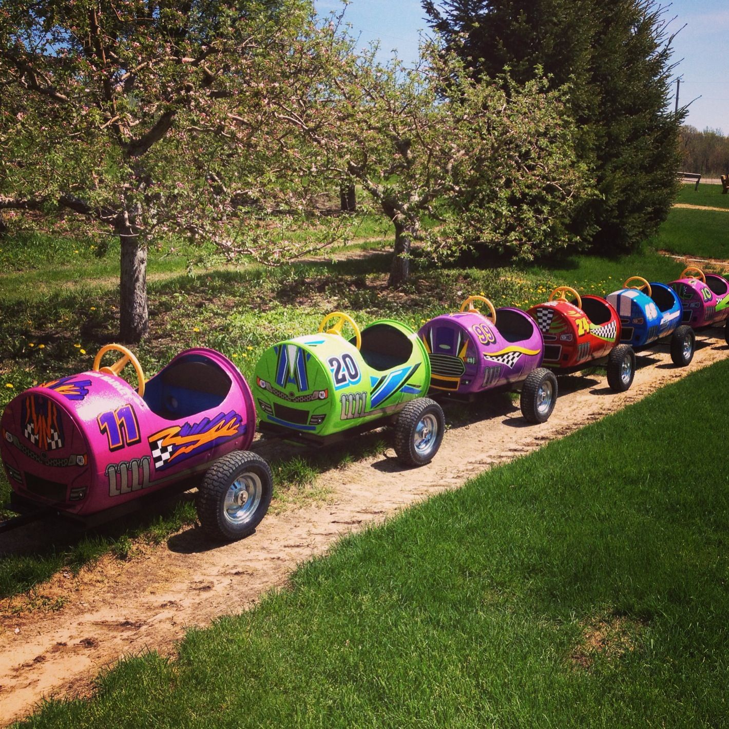 Our Barrel Train has a brand new look! | Barrel train ...