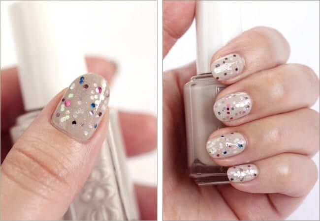 DIY Ideen für schöne Nägel zu Fasching – Konfetti-Maniküre Check more at diy…