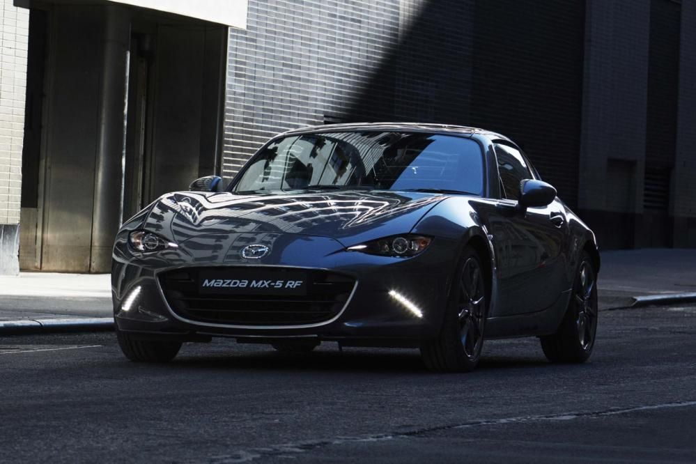 Mazda MX5 RF on sale next year in 2020 Mazda mx5, Mazda