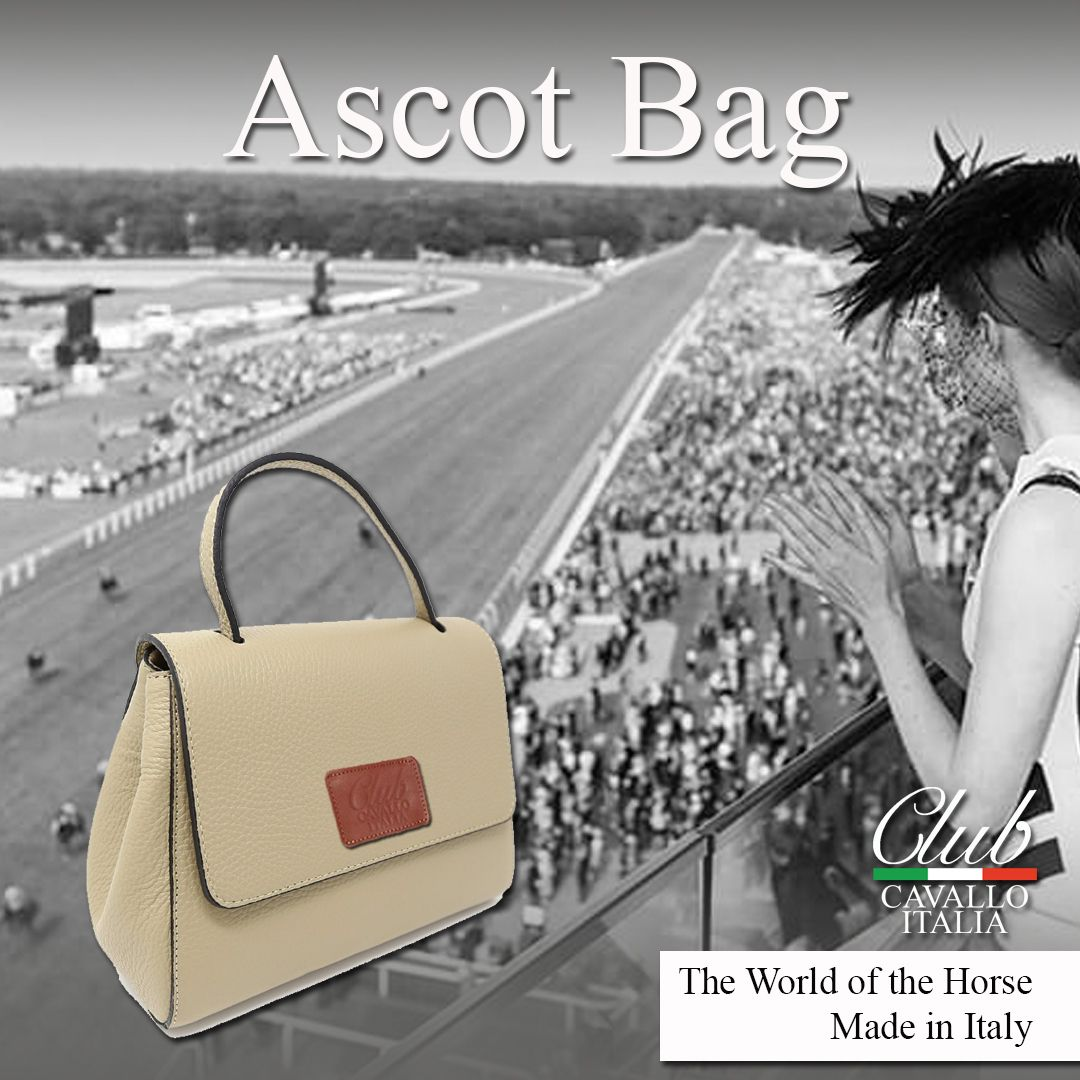 1c98a85cc5c7 Each Ascot Bag is handmade in Italy in soft Italian leather and with the  Club Cavallo