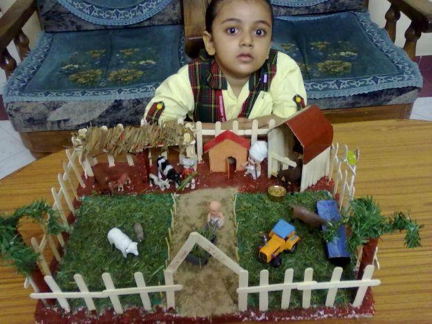 School Project Model Farm Google Search Early