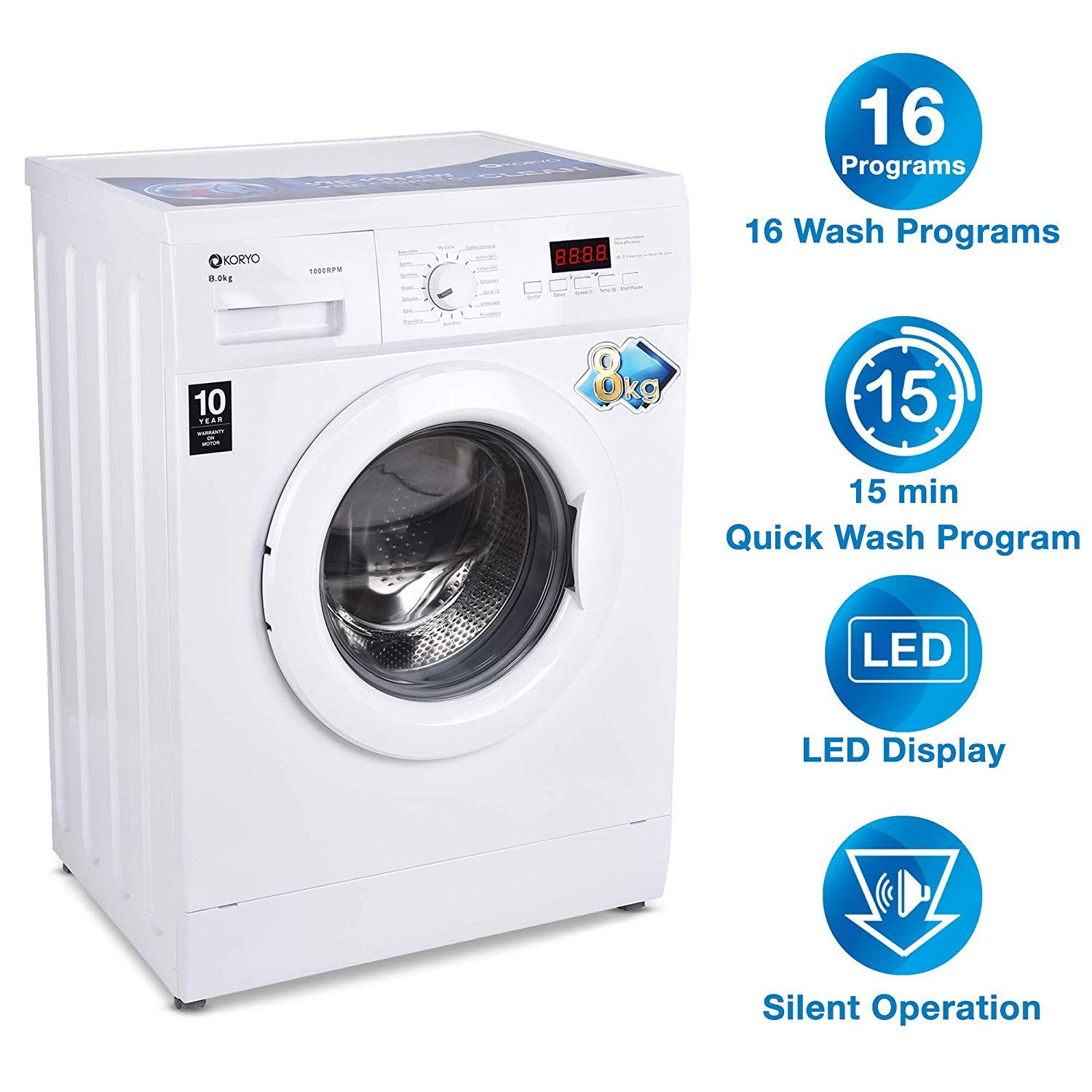 5 Best Washing Machine Under 20000 Rupees In India Market Automatic Washing Machine Washing Machines Best Fully Automatic Washing Machine
