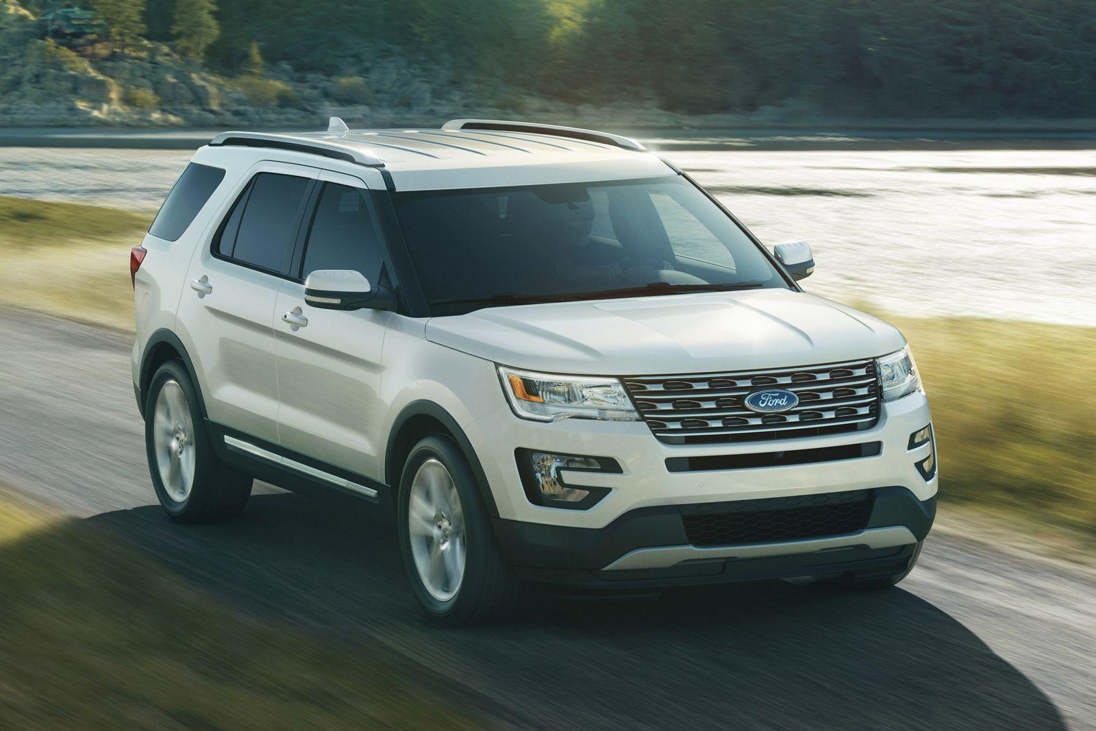 2016 Ford Explorer Limited Series White Platinum