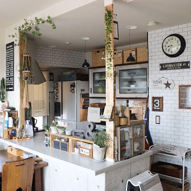 ラブリコに新パーツ登場 1 4材で突っ張り棚板をdiy Diy Factory Column Home Decor Kitchen Coffee Shop