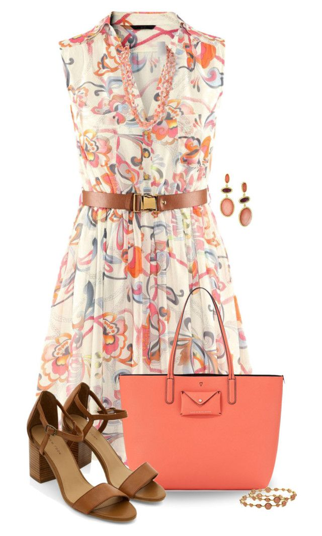 """""""Belted Dress"""" by missdoolittle ❤ liked on Polyvore featuring Marc by Marc Jacobs, 1928, Zad and Ippolita"""