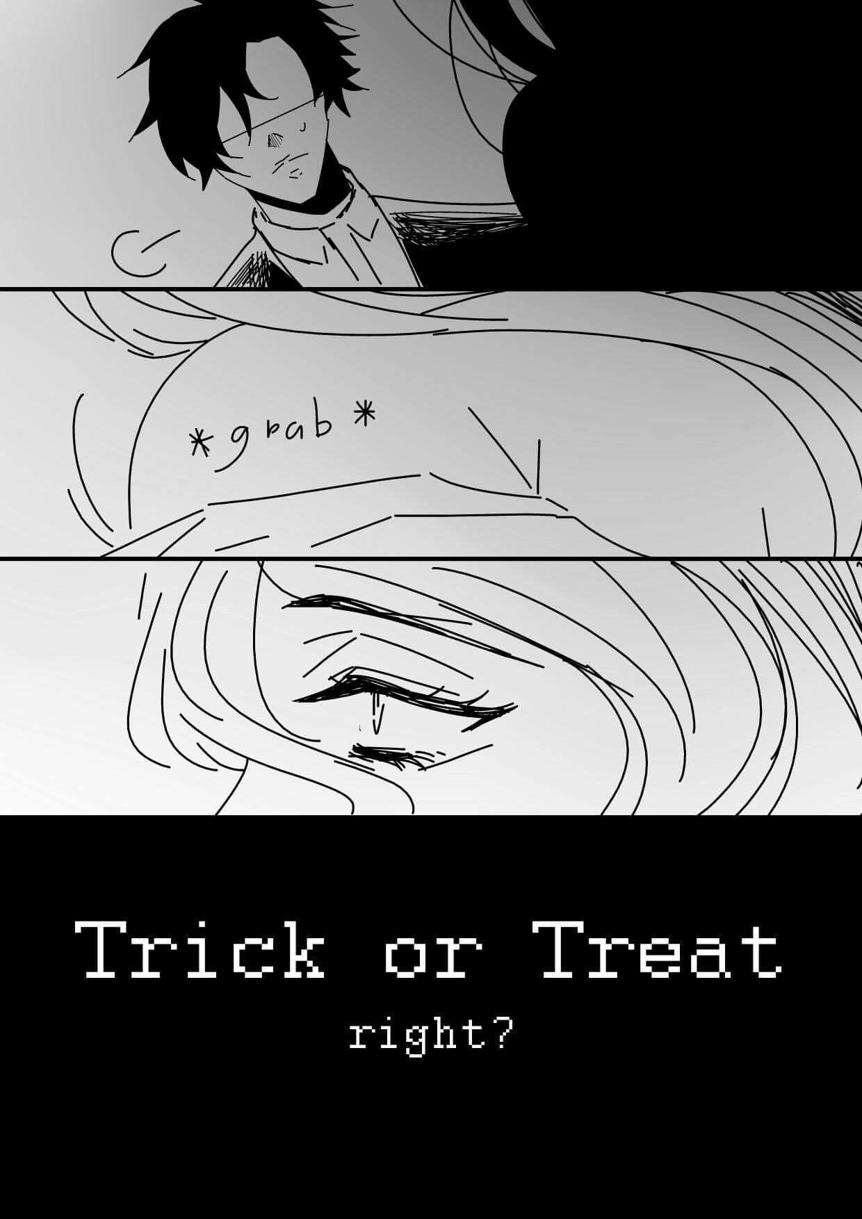 Halloween jumin x mc 5
