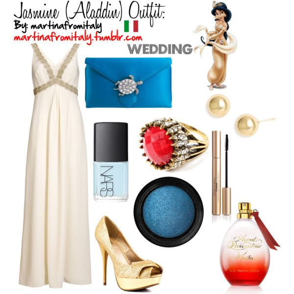 Jasmine Aladdin Wedding Outfit By Martinafromitaly On Polyvore