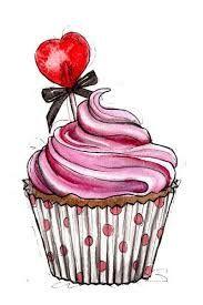 Bildergebnis Für Cupcake Illustrations Aquarell Malerei Und
