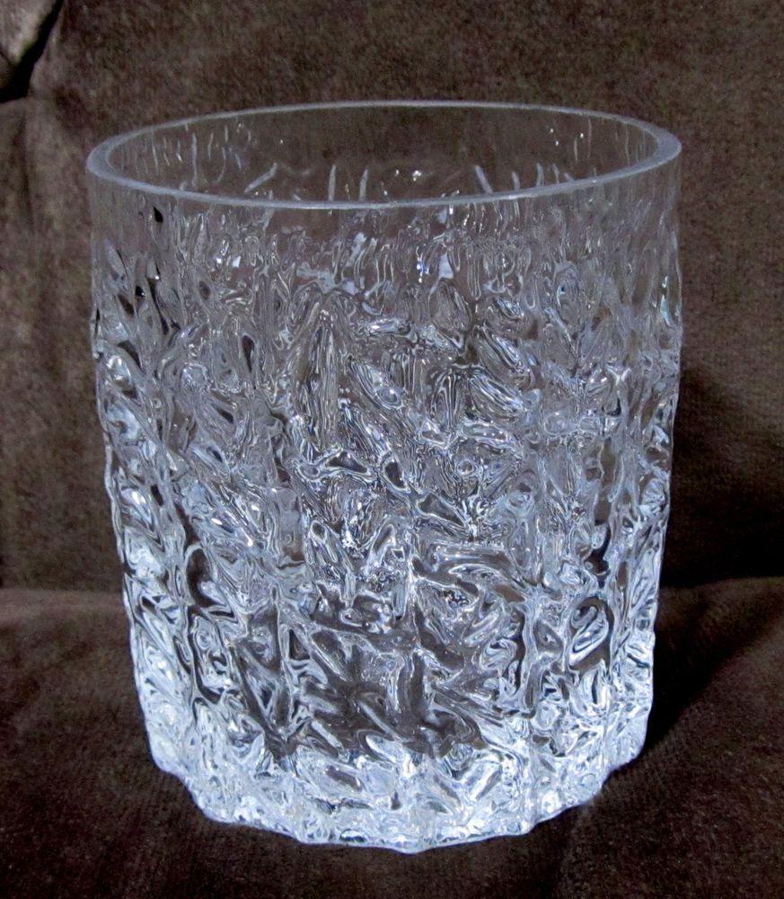 Whitefriars Crystal GLACIER Dessert Bowl Glass 3