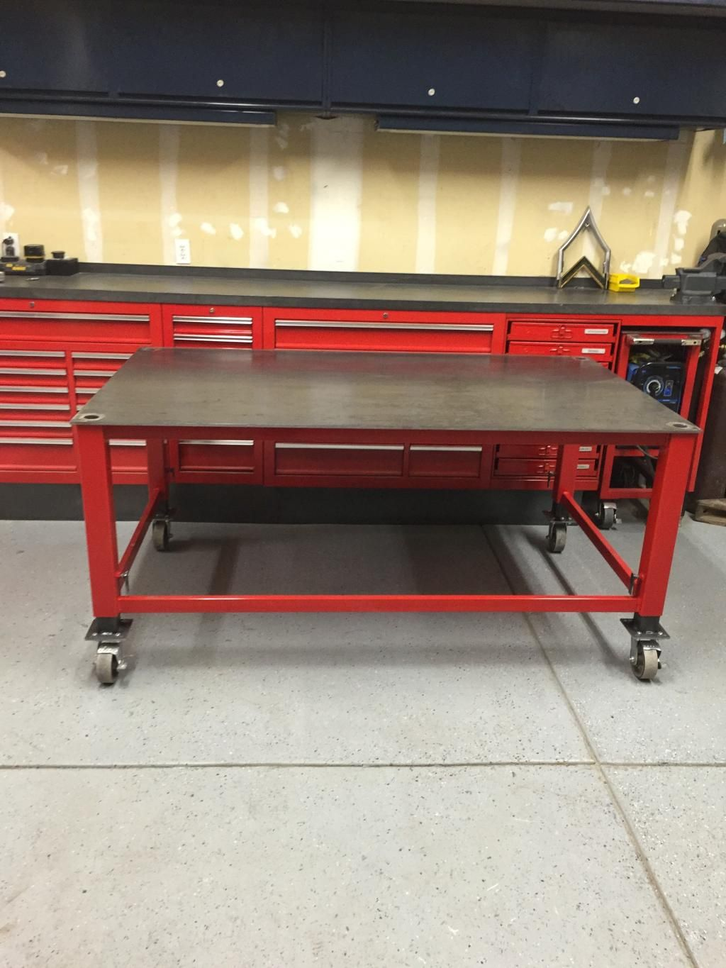 Mesa De Soldadura Adjustable Welding Shop Table The Garage Journal Board