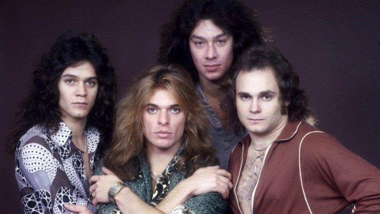 Van Halen 70s In 2020 Van Halen Michael Anthony David Lee Roth