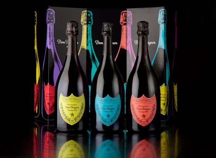 Andy Warhol champagne