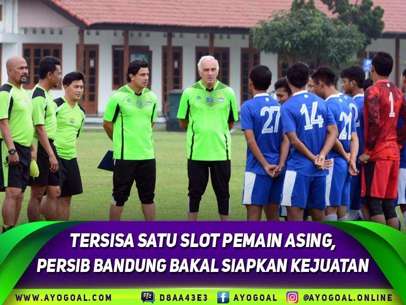 Persib Bandung saat ini sudah memiliki tiga pemain asing ...