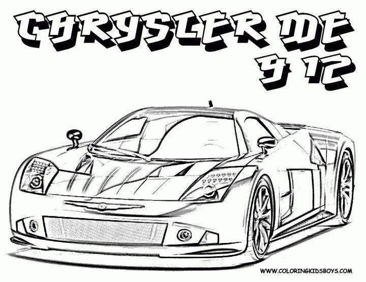 malvorlagen auto für kinder zum ausdrucken  coloring