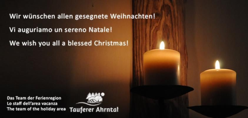 Frohe Weihnachten! Buon Natale! Merry Christmas!