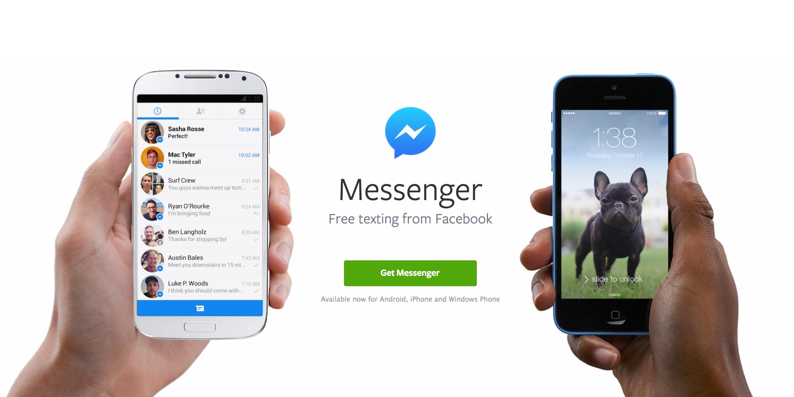 Facebook Messenger Ton