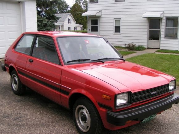 1982 Toyota Starlet Pristine Survivor For Front