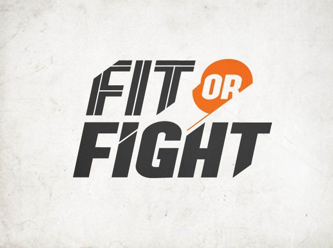 Fit Or Fight Logo By Tim Sullentrup