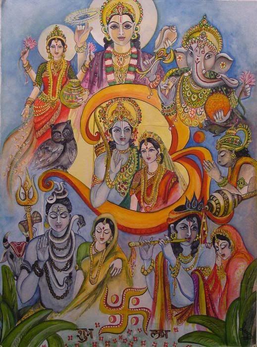 All Hindu Gods And Goddesses List
