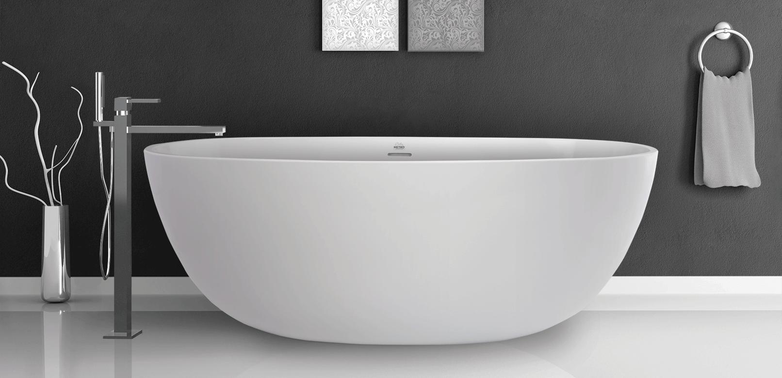 freestanding tub with grab bar - Google Search | Urban Organic ...